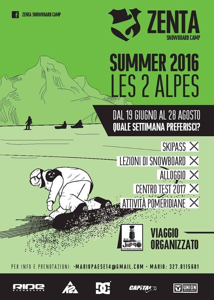 Snowboard a Les 2 Alpes