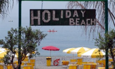 Paola: vista in diretta dal lido Holiday Beach!