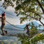 L'incoscenza di correre su una rete di corda