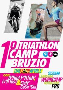 Locandina 1° Triathlon Camp Bruzio